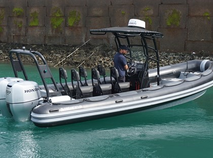 Highfield Demo RIB - Highfield Patrol 760 Highboat